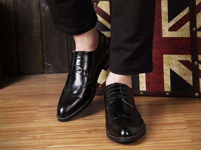 Giày nam mang lại nét sang trọng lịch lãm cho cánh mày râu