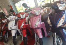 Honda SH và nhiều xe máy giảm giá trong tháng 7/2018