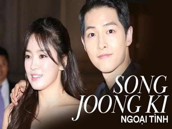 Rộ tin cặp Song Song ly hôn do Song Joong Ki ngoại tình