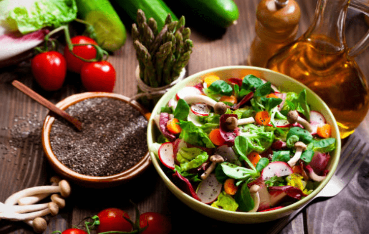 Hạt chia có chứa các chất dinh dưỡng khác nhau