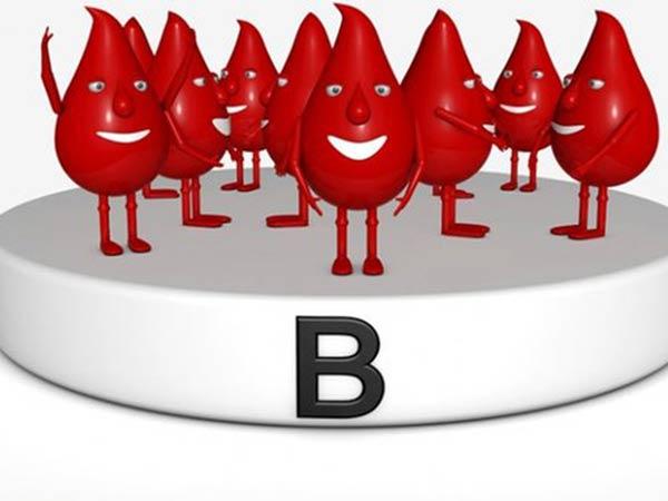 Nhóm máu B- là nhóm máu hiếm sau nhóm máu AB-