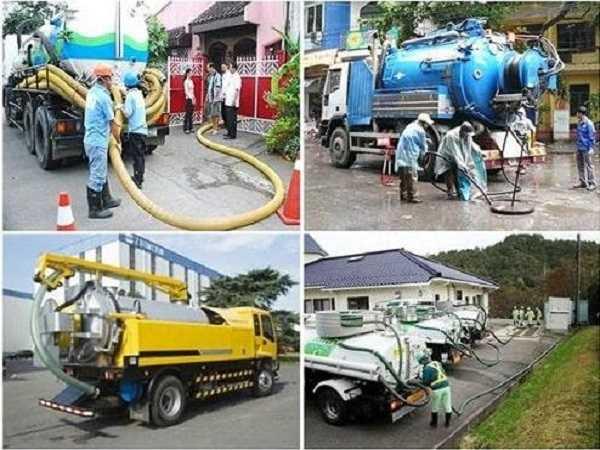 Nhu cầu hút bể phốt tại TP Hải Dương tăng cao