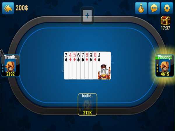 Game bigkool tiến lên áp dụng cách đánh bài nhanh gọn