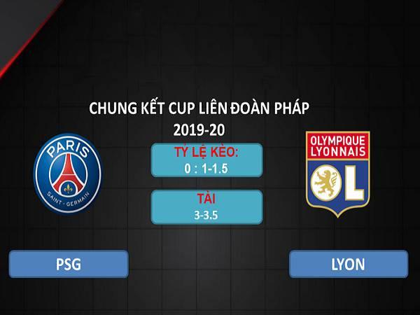 Nhận định PSG vs Lyon 02h10, 01/08 - Cúp Liên đoàn Pháp