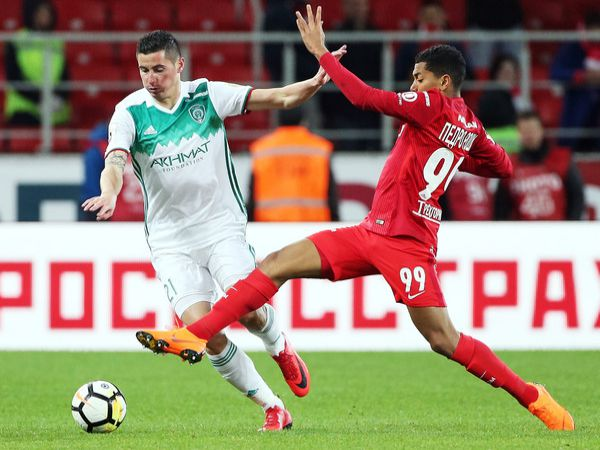 Nhận định Spartak Moscow vs Akhmat Grozny