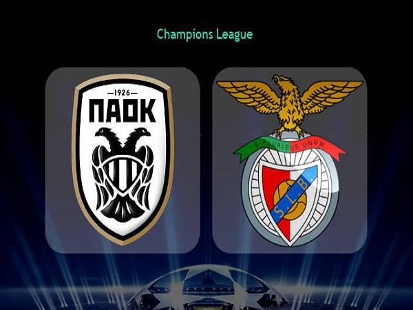 Nhận định PAOK vs Benfica 01h00, 16/09 - Champions League