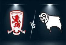 Nhận định Middlesbrough vs Derby County, 02h00 26/11